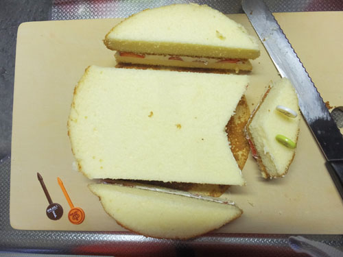 鯉のぼりケーキ 作り方