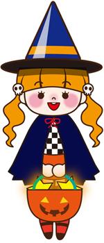 ハロウィン女の子02