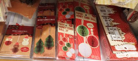 セリア クリスマス オーナメント