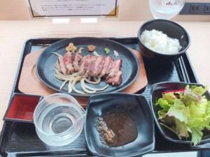 大阪城公園 ランチ ステーキ 日本酒 わはく