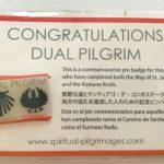 【熊野古道&スペイン巡礼】共通巡礼!限定バッチと証明書をもらう!