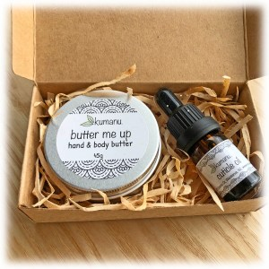 Body Butter and Cuticle Oil Set