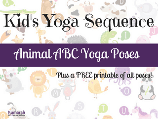 Animal Yoga ABC Poses for Kids! [VIDEO]