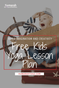 Free Kids Yoga Lesson Plan based on the book Not a Box