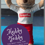 Meddy Teddy for use in the classroom to help kids stay engaged and excited about yoga