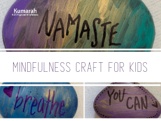 How To Make Beautiful And Affirming Mindfulness Rocks For Kids