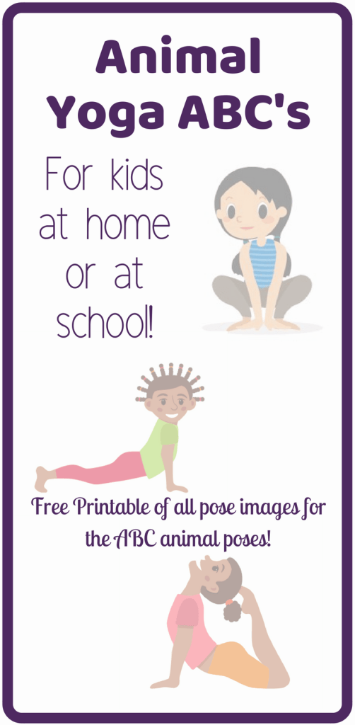 ABC yoga poses for kids