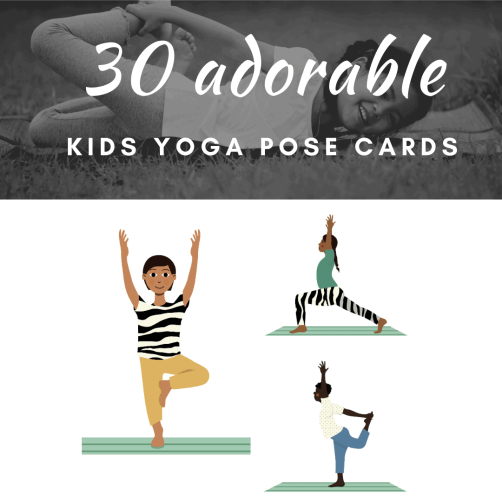 yoga flow poses for kids