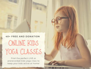 Online Kids Yoga Classes to do at Home (Free and paid!)