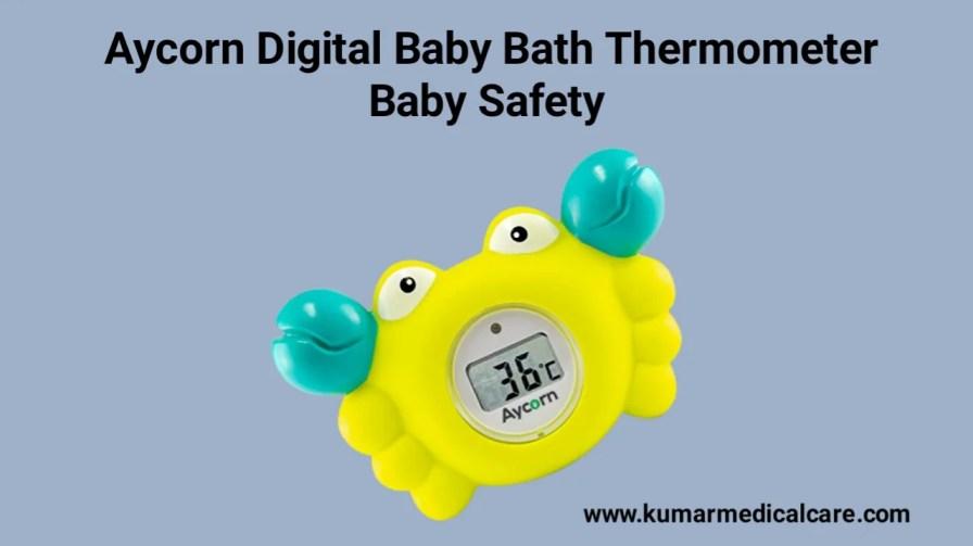Aycorn Digital Baby Bath Thermometer