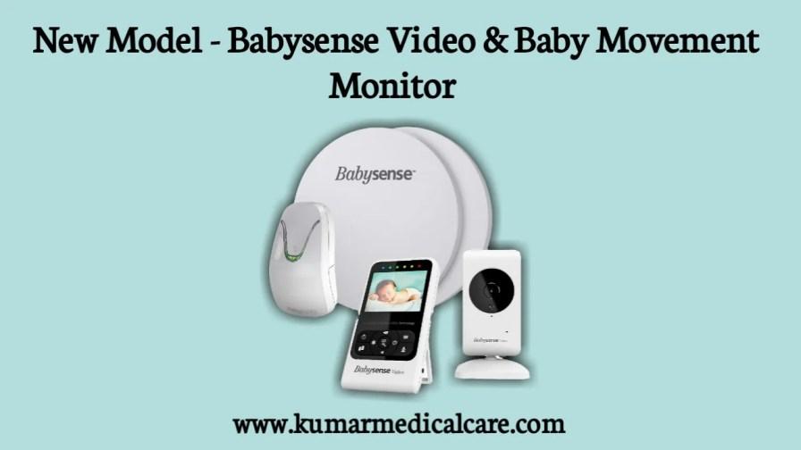 New Model - Babysense Video & Baby Movement Monitor
