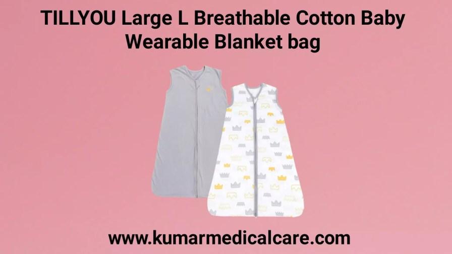 TILLYOU Large L Breathable Cotton