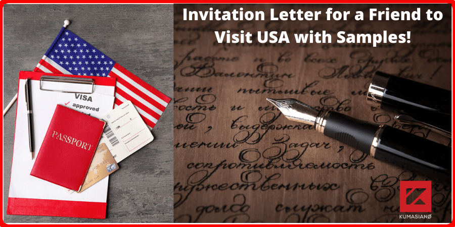 invitation letter for a friend to visit