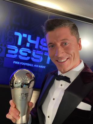 Robert Lewandowski wins FIFA Best Player award for the year 2020
