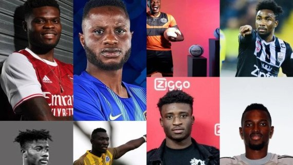 Top 8 Ghanaian transfers in 2020