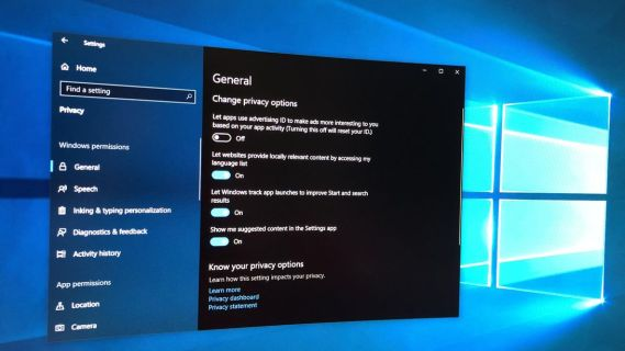 privacy settings you should change in Windows 10