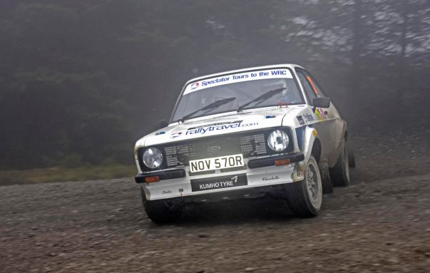 Kumho Tyre   Hutchinson & Garnett from RallyTravel take on the Wales Rally GB