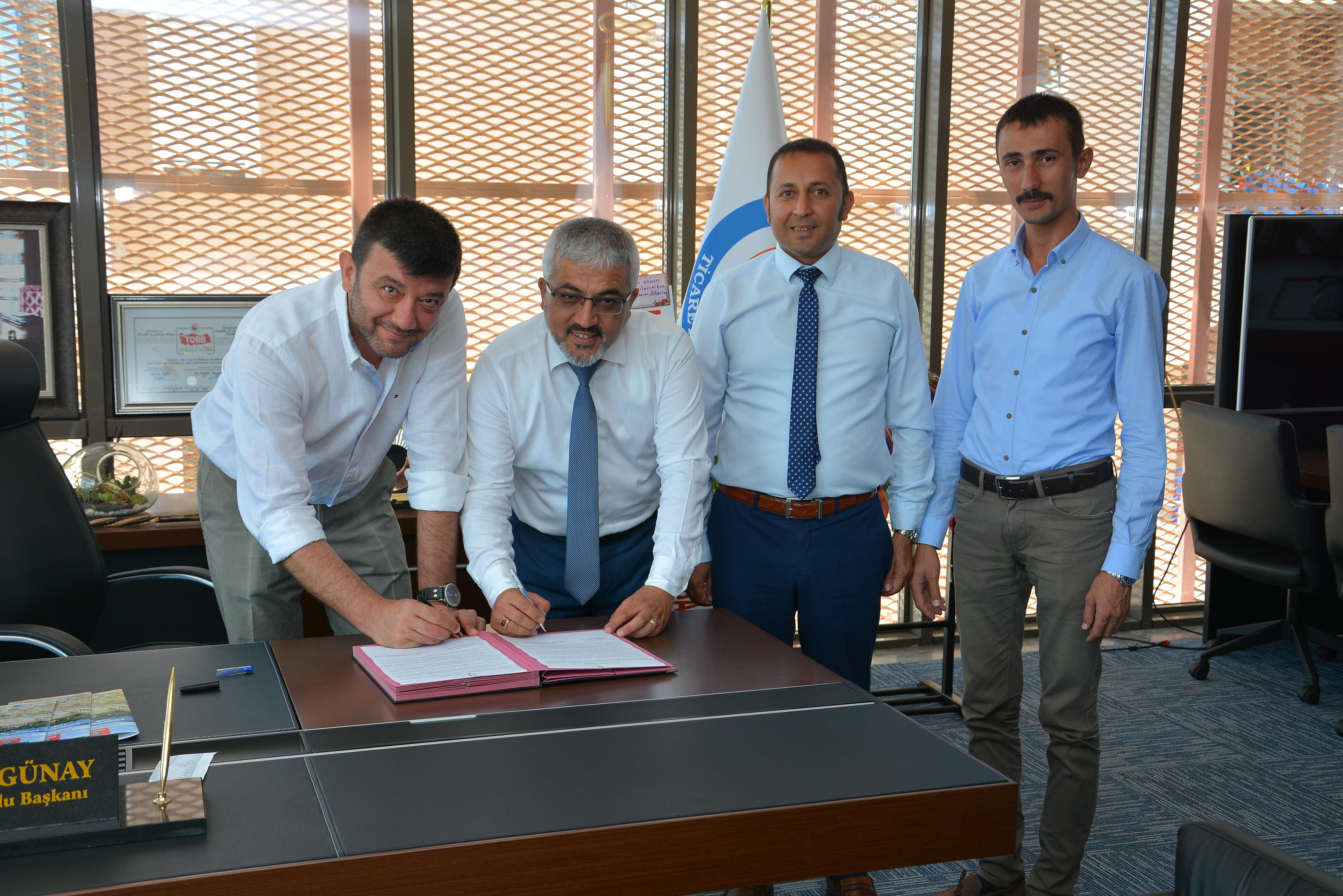 Teknokent Koleji ile KUTSO arasında işbirliği protokolü imzalandı.