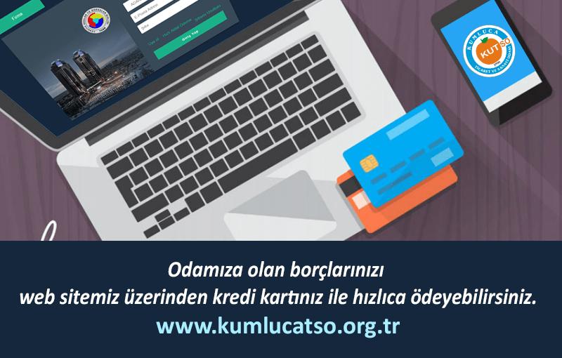 Aidatlarınızı internet üzerinden ödeyebilirsiniz.