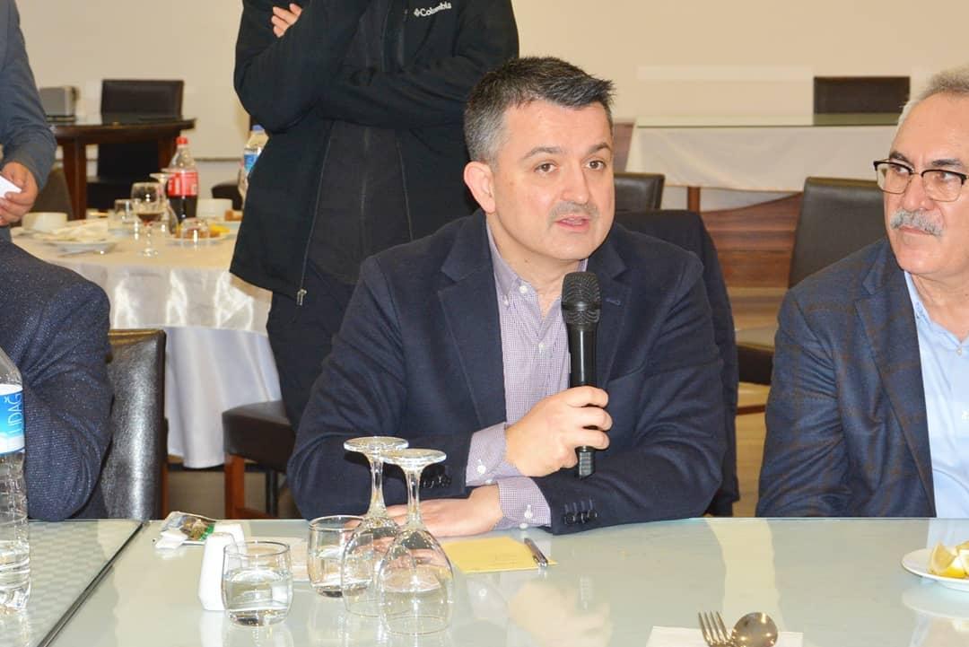 Tarım ve Orman Bakanı Dr. Bekir Pakdemirli'den afet sonrası toplantı.