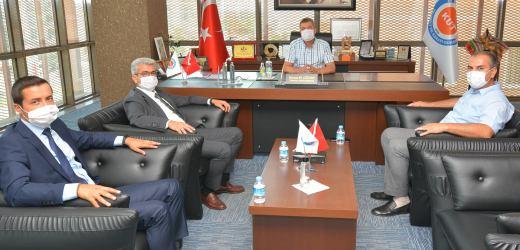 Antalya Ticaret İl Müdürü Halil Özşahan'dan odamıza ziyaret.