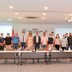 Kaş OSB Yer Seçim Komisyonu Toplandı.