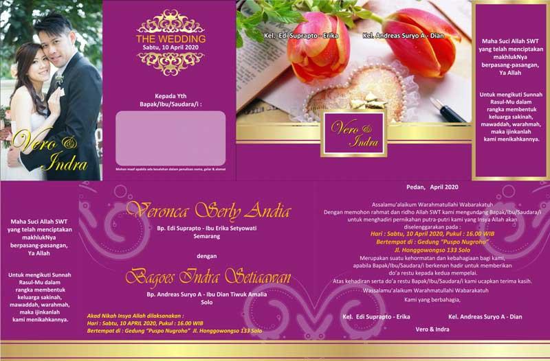 Desain Undangan Pernikahan Format Coreldraw Instalseahardware