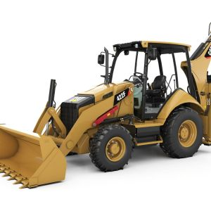 CAT 422F BACKHOE