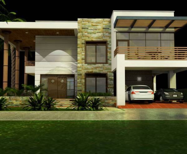 3 BHK Storied Residential