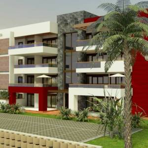 2 & 1 BHK Apartments Block