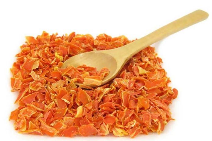Сушим морковь