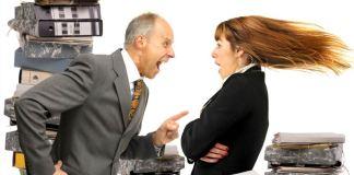 Страх перед начальником