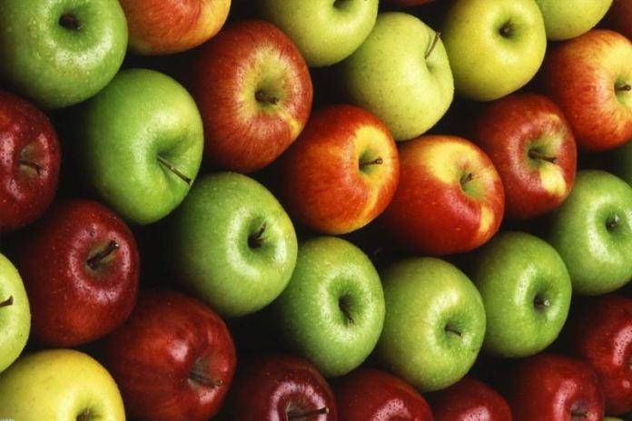 разноцветье яблок