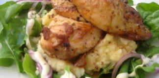 Куриные рулеты в сметанном соусе