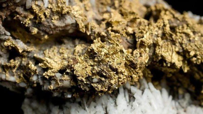 Землетрясения создают золотые жилы в одно мгновени