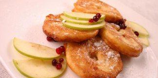 Яблоки в тесте по-итальянски
