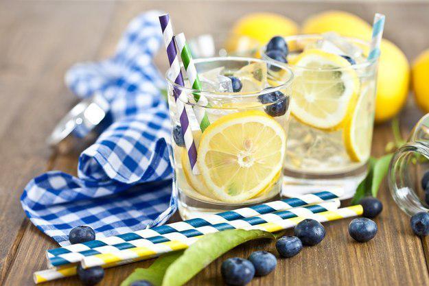 Лимон + черника