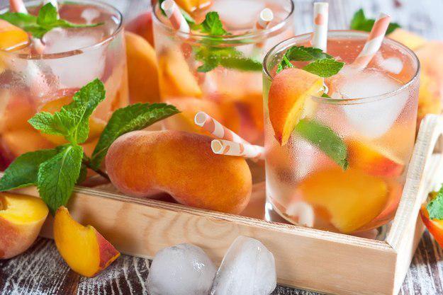 Персик + лимон