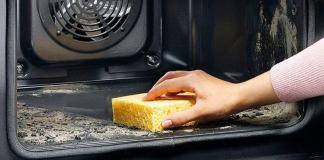 Как без труда отмыть духовку