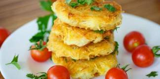 Куриные отбивные в картофельной панировке