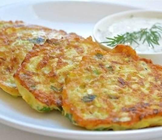 котлеты из кабачков с сыром