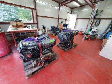 Urgent interventions engine repair Dubrovnik