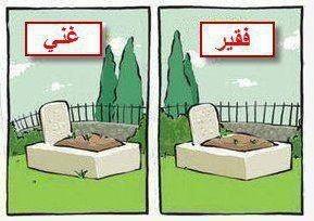 Perbedaan antara kaya dan miskin