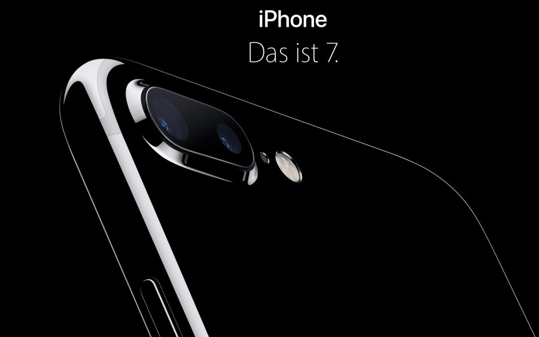 Die Kamera im iPhone 7+