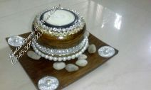 Wooden Candle Stand -13