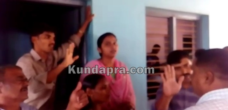 Convert to cristician community is forced in Kundapura kodi. Police ride the house (4)