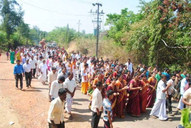 News_Pejavara shree honor at Kumbashi1