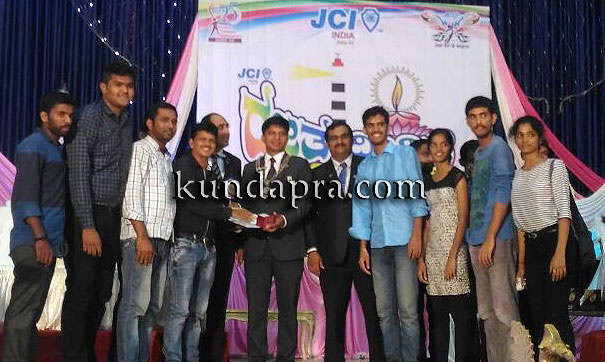 JCI Kundapura city got many awards in Rajata divige 2016 kapu (2)
