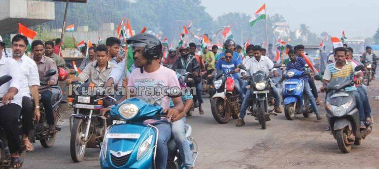Tiranga Yatre - Bike Rally in Kundapura (4)