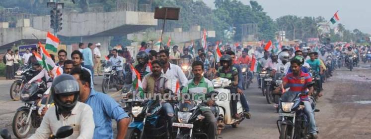 Tiranga Yatre - Bike Rally in Kundapura (6)